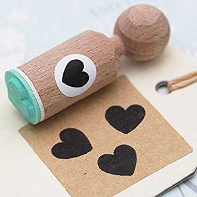 HEART OUTLINE MINI Rubber Stamp Craft Scrapbooking