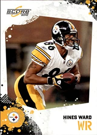 c54521701 Amazon.com  2010 Score Football Card  229 Hines Ward Near Mint Mint   Collectibles   Fine Art