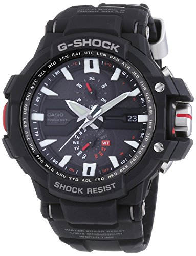 Casio G Shock GWA1000 1 G Aviation Black