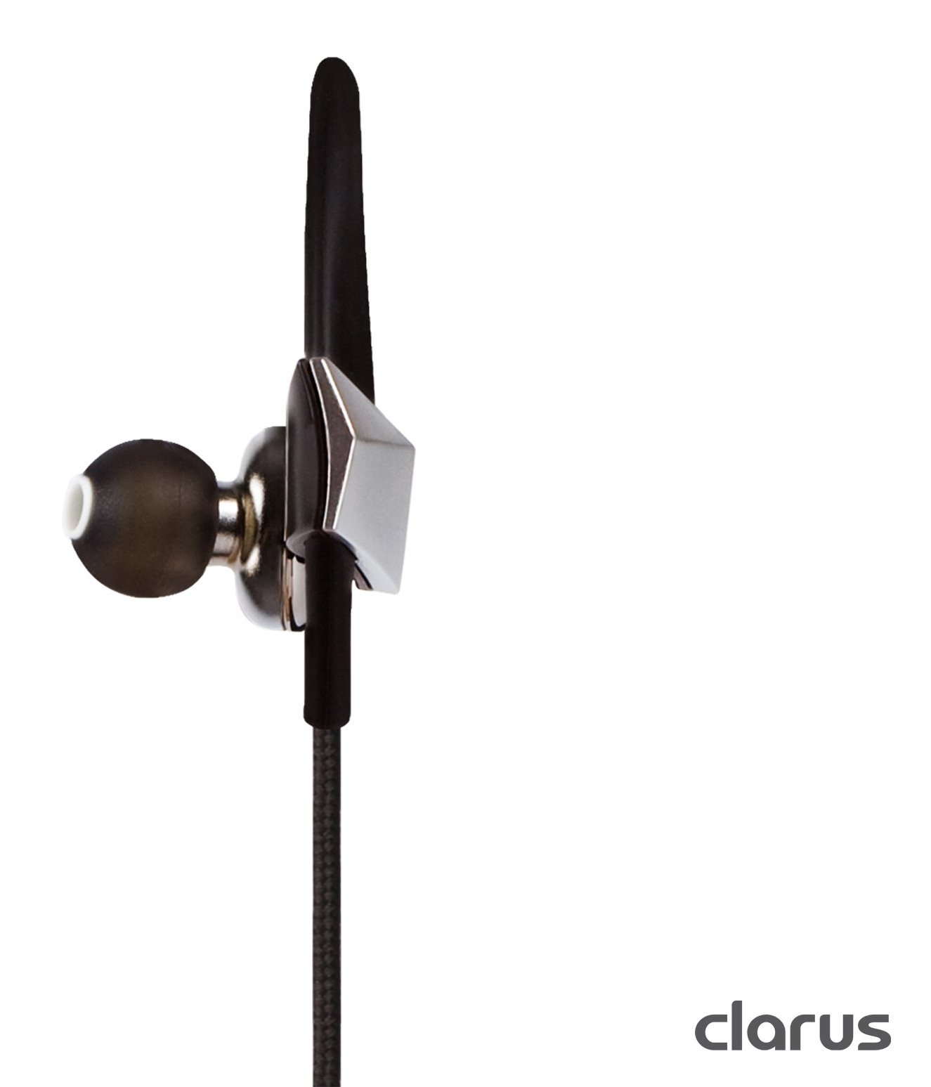 Moshi Clarus Premium Dual Driver In-Ear Headphones with Microphone, Silver by Moshi (Image #5)