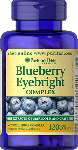 Cheap Puritan's Pride Blueberry Eyebright Complex-120 Caplets