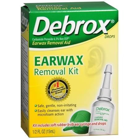 - Debrox Earwax Removal Aid Kit - 3PC