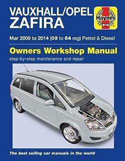 collectivedata.com Vauxhall Zafira Haynes Manual 2005-09 1.6 1.8 ...