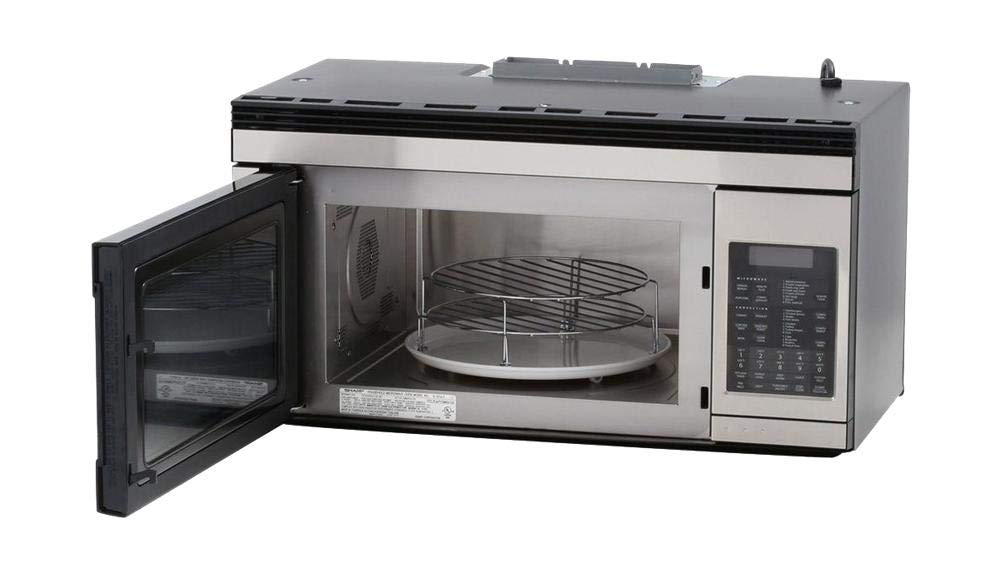 Sharp R1874TY 30 Inch Over the Range Microwave Oven with 1.1 cu. ft. Capacity, in Stainless Steel by Sharp Products