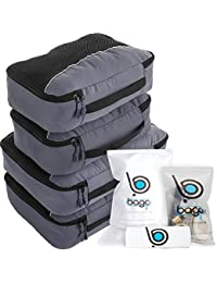 Packing Cubes for Travel Bags - Luggage Organizer 10pcs Set in 12 Colors