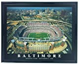Football Baltimore Ravens Stadium Opening Day Print Artwork Framed F57502A