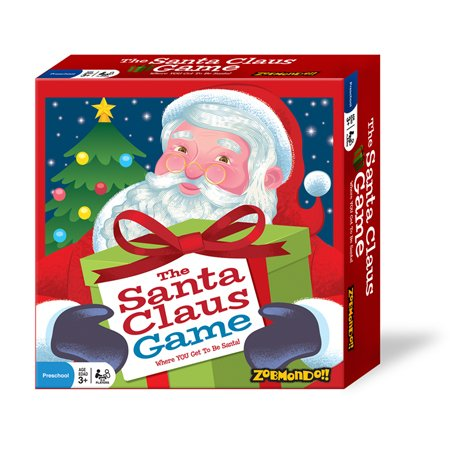 The Santa Claus Game - Best Seller, Holiday Board Game - Award Winning, Holiday Game, Christmas Game, Kids Board Game, Educational Game, xmas game, Easy Game - Perfect Gift This -