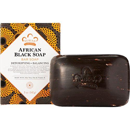 Nubian Heritage Soap Bar, African Black, 5 -