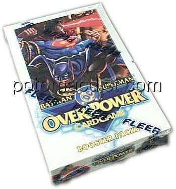 Fleer DC [Batman/Superman] OverPower Booster Box