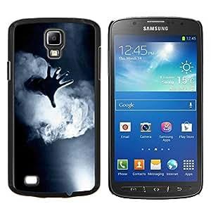 Stuss Case / Funda Carcasa protectora - Niebla Negro Blanco Profundo Significado - Samsung Galaxy S4 Active i9295