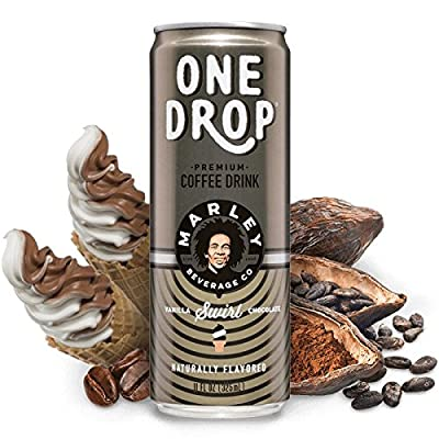 One Drop Premium Coffee Drinks (Chocolate Vanilla Swirl), 11fl.oz (Pack of 12)