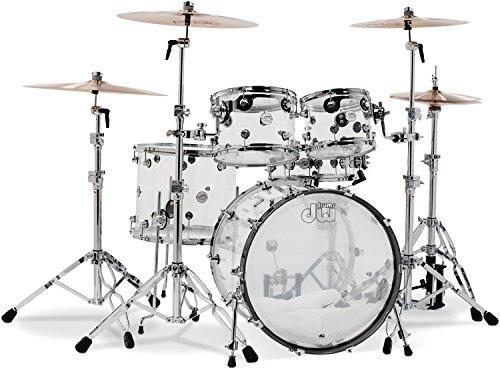 DW Design Series 5-piece Shell Pack - Clear ()