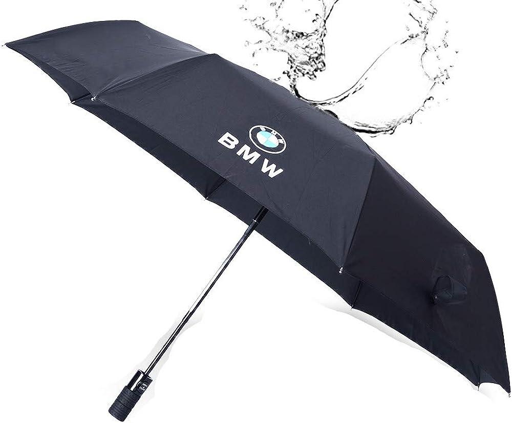 HSHKONG Automatic Umbrella Self-Opening Automatic Umbrella Large Windproof Increased Reinforcement Three Fold Mens Folding Umbrella