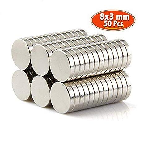 20 Stk Starke Neodym Magnete N50 12 X 3mm Magnet Rund Pinnwand Kühlschrank Büro