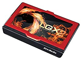 AVerMedia Live Gamer Extreme 2, USB3.0 Game Streaming and Video Capture, 4K Pass-Through, Full HD 1080p 60fps, Ultra Low Latency (GC551)