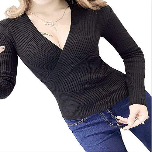 manches à manches longues Blanc Gilet E pour Foncé Taille avec femmes longues Bleu Blanc Zhrui couleur W x4qE0g5