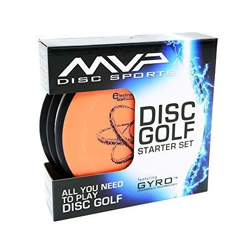 MVP Disc Golf Starter Set Electron Set of 3 Discs by MVP Disc Sports