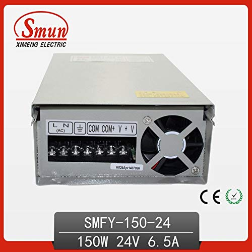 Utini 150W 24VDC 6.5A Rain-Proof Switching Power Supply with CE ROHS 1 Year Warranty OEM Factory