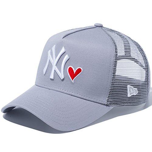 New Era(ニューエラ) 940キャップ スナップバック エーフレームトラッカー レッドハートロゴ ニューヨークヤンキース 11597949