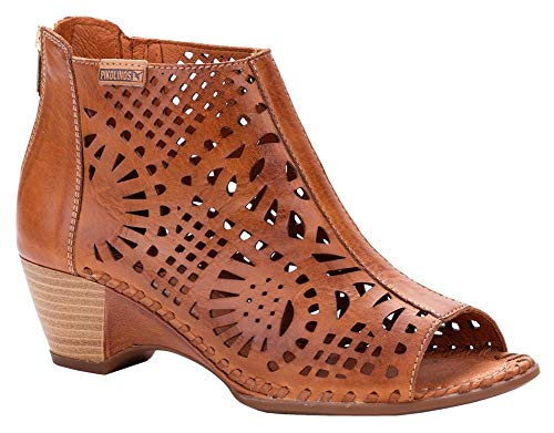 - PIKOLINOS Womens Romana W9X-1735 Brandy Sandal - 39