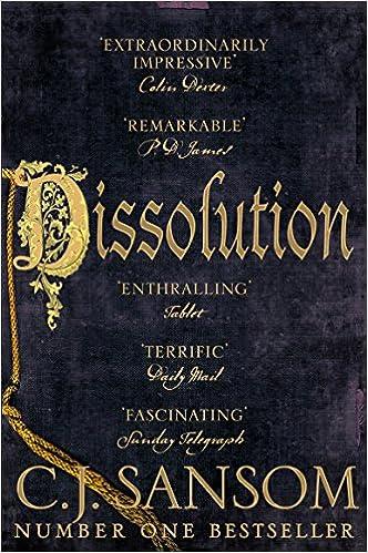 Image result for dissolution cj sansom