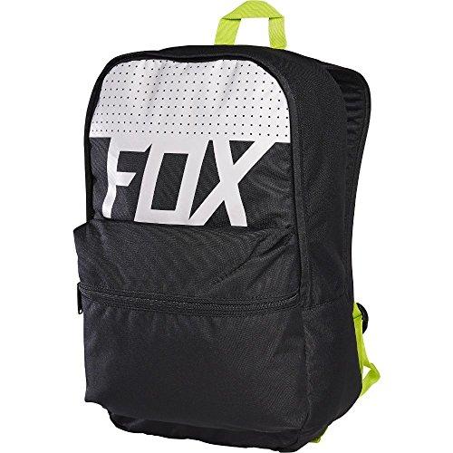 Fox GEMSTONE BACKPACK Black Green School Bag BACKPACK 17647-001-OS (Racing Stones Fox)