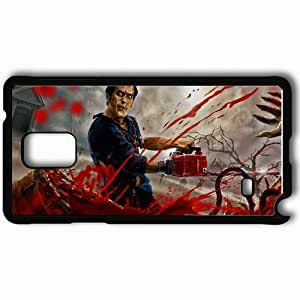 Personalized Samsung Note 4 Cell phone Case/Cover Skin Army Of Darkness Black