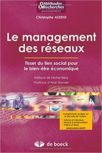 Livre gratuits Le management des reseaux : Tisser du lien social pour le bien-être economique epub pdf
