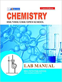Buy Chemistry Lab Manual By New Jyothi Publications Book Online at