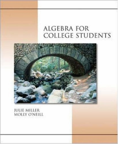 MP: Algebra for College Students w/ OLC Bind-In Card