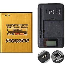 PowerFull EB-L1G6LLU High Capacity Battery Replacement Premium Quality EB-L1G6LLA 3000 mAh For Samsung Galaxy S3 SGH-T999 + Universal Charger USB Port LED Indicator