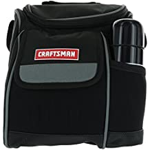 Craftsman Insulated Zippered Canvas Work Cooler with Stainless Steel Insulated Bottle with Shoulder Strap