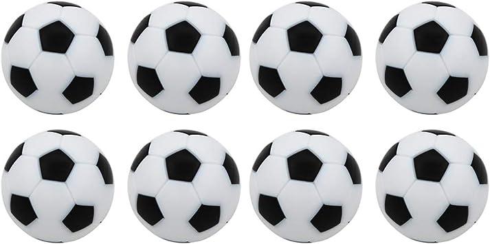 YeahiBaby 8 unids futbolín futbolín Bolas de reemplazo Mini Juego ...