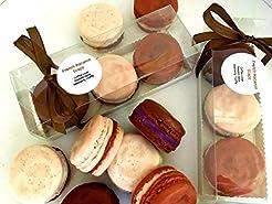 French Macaron Soap Gift Set of 3 - Coff...