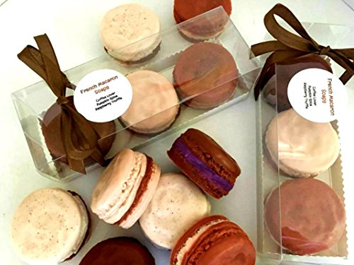 (French Macaron Soap Gift Set of 3 - Coffee Lover, Pumpkin Spice, Raspberry Truffle - Cake Soap - Gift for Her - Grandmother - Friend Gift )
