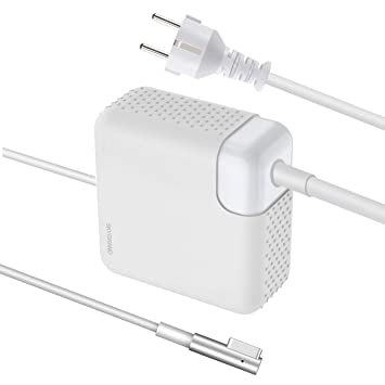 Cargador Macbook Pro, Cargador Macbook Air SkyGrand Adaptador Sector MagSafe 1 60W para MacBook Pro 13 Pulgadas (2009 2010 2011) - Modelos réalisés ...