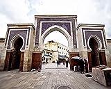 Fez Morocco Gate 8x10 inch print
