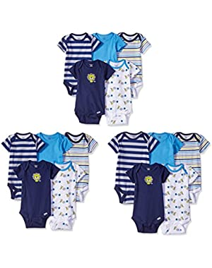 Baby Boys' 15 Piece Grow with Me Onesies in 3 Sizes
