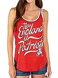 Junk Food NFL New England Patriots Licorice Red Juniors Tank Top