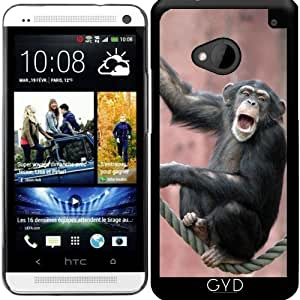 Funda para Htc One M7 - Chimpanzee_2015_0601 by JAMFoto