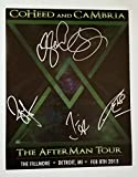 #9: Coheed & Cambria REAL hand SIGNED 11x14 Photo COA Autographed all 4