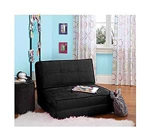 your zone - flip chair (1, Rich Black)
