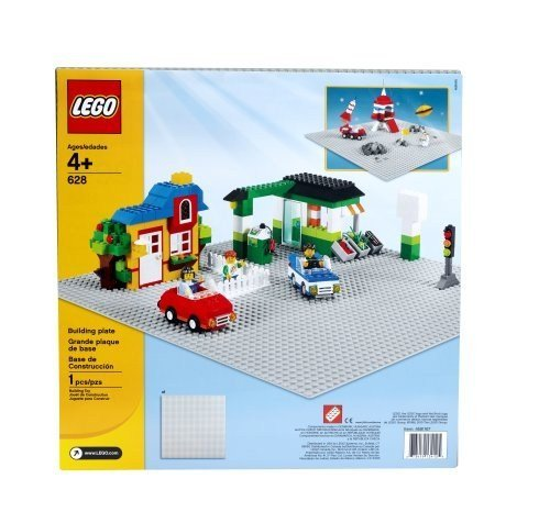 Extra Large Grey Base Plate (LEGO Bricks & More Building Plate 628)