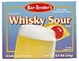 Bar-Tenders Instant Whiskey Sour Cocktail Mix, Net Wt. 4.7 oz. (8 pouches)