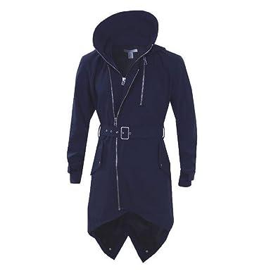 Mens Adidas SLVR Fishtail Parka Coat Jacket Trench Navy RRP £199