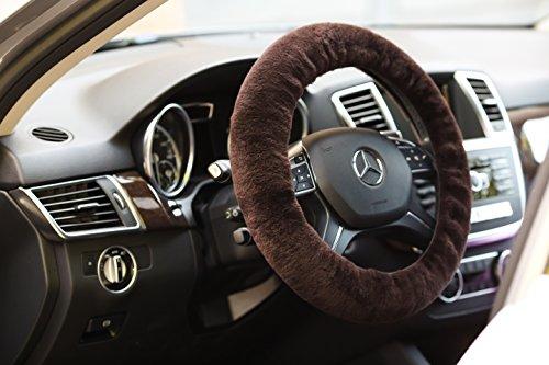 fleece steering wheel cover - 5
