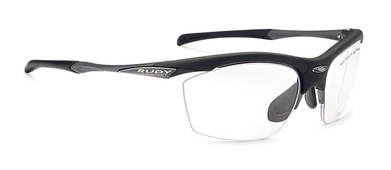 RUDY PROJECT(ルディプロジェクト) ロードバイク スポーツサングラス サイクリング 自転車 フィット感 視力矯正 度付き対応 調整可能 アゴン ダイレクトクリップブラックフレーム 0129SP291506V
