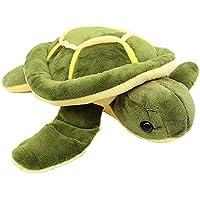 ANVIT Toy World Tortoise Fur Cloth Soft Toy Turtle (Green & Yellow) (50 cm)