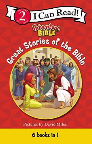 Great Stories of the Bible (I Can Read! / Adventure Bible) (Moses And The Burning Bush Story For Kids)