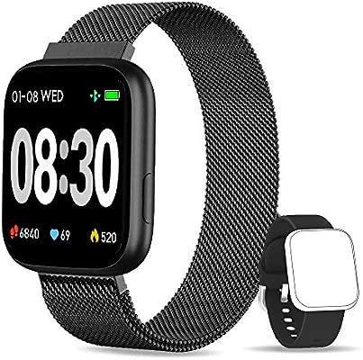 BANLVS Smartwatch, 1.4 Inch Reloj Inteligente IP67 con ...